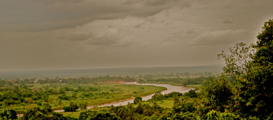 The Sabaki River on the last part of the drive from Sala Gate to Malindi.