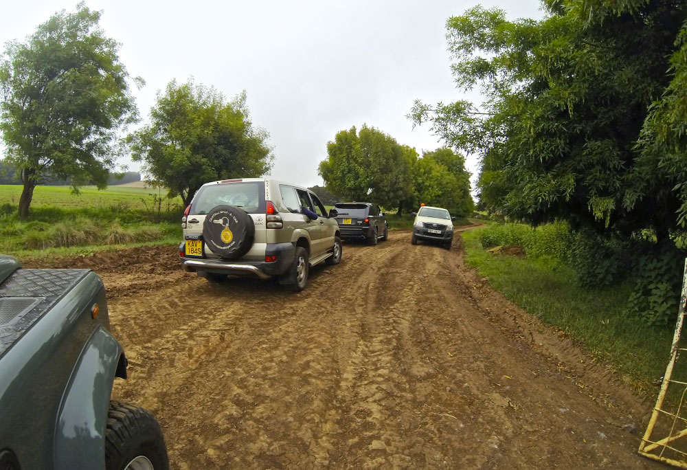 4x4's required!